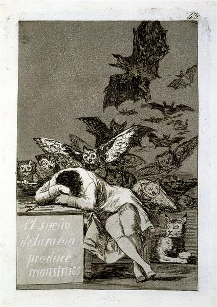 Sueño de la razon produce monstruos - The sleep reason produces monsters