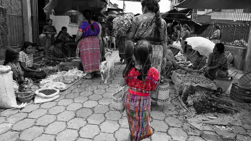 La Niña del Mercado