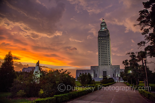Louisiana State Capitol HDR