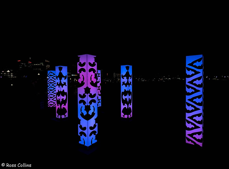 Lux Light Festival 2018, Wellington Waterfront, 24 May 2018