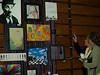 Lydia's senior art show at QCHS