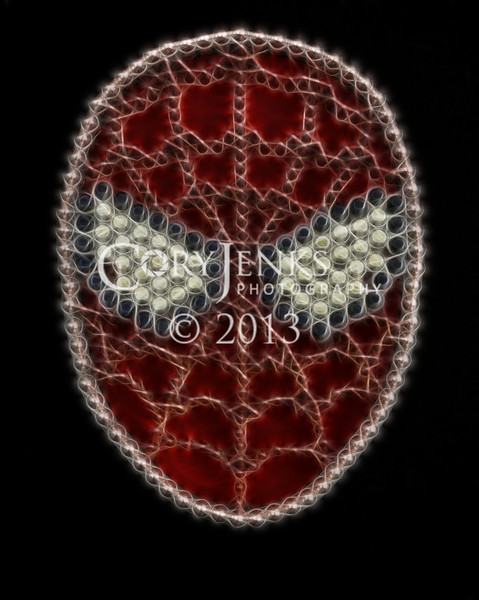 Spiderman, Bullet Art
