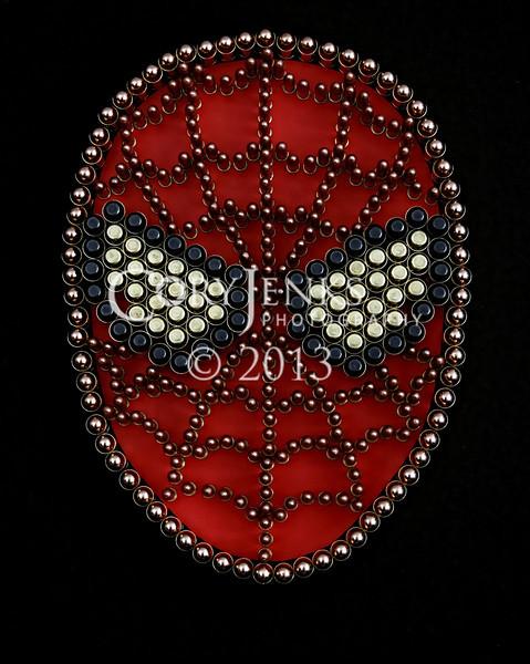 Spiderman, Bullet Art
