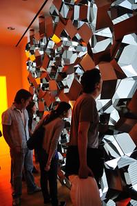 """Negative quasi brick wall"" - Ofafur Eliasson"