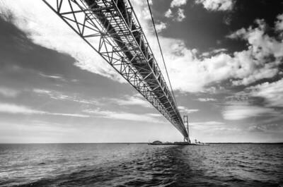 under the big mac bridge