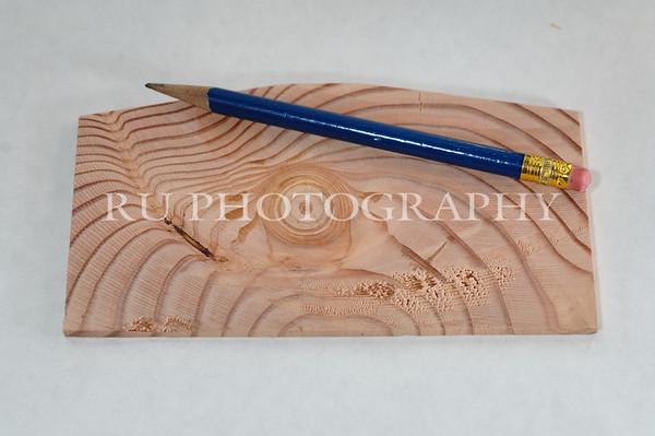 wood grain and pencil