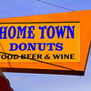Home Town Donuts - Food -Beer & Wine  Basic Nutrition in saturated colors