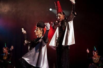 Pharoah's magicians.