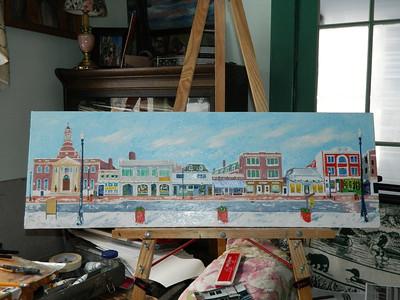 Main Street  12x36, oil, jan 25, 2013  DSCN1993
