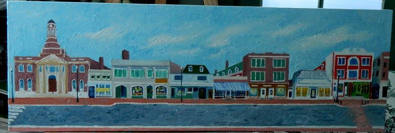 Main Street  12x36, oil, jan 23, 2013  DSCN1983