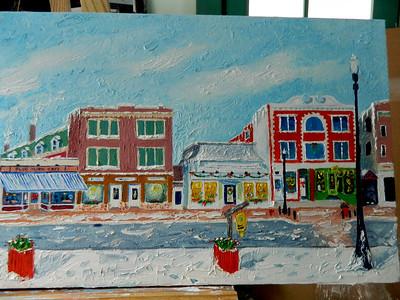 Main Street  12x36, oil, completed jan 26, 2013  DSCN2000
