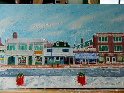 Main Street  12x36, oil, completed jan 26, 2013  DSCN2001