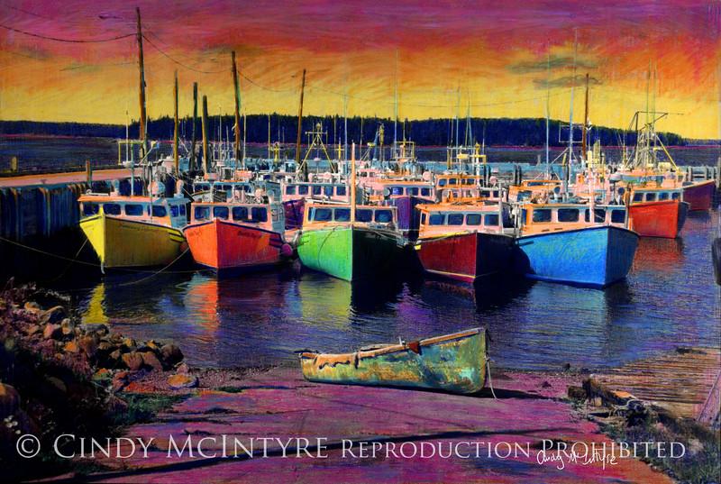 Novi Boats - lobster boats Nova Scotia