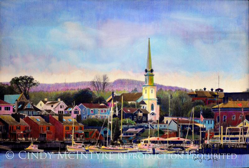 Camden, Maine harbor