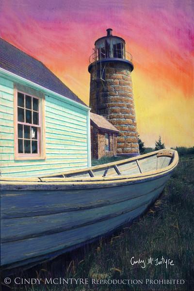 Monhegan Light - Maine