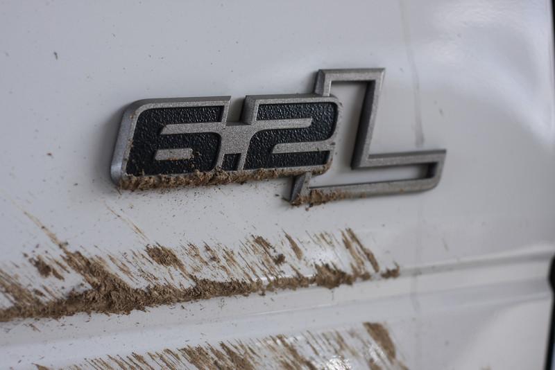 6.2L Raptor with mud
