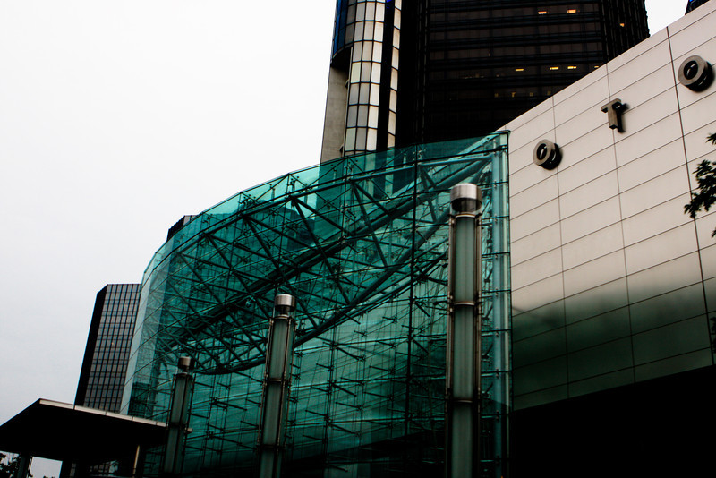 GM Renaissance Center Detroit, MI<br /> Canon 40D, 24-70 F2.8L