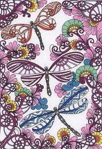 Mandala_Art_Dragonfly_310 jpg