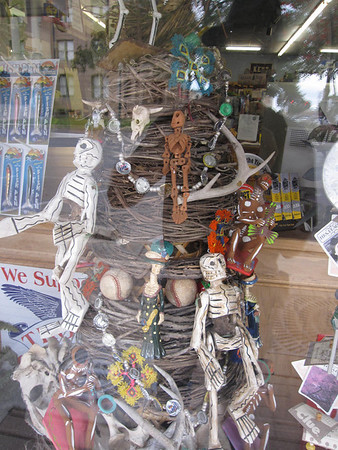 Margarite Holt--The Hill Country Bookstore--Dia de los Muertos art