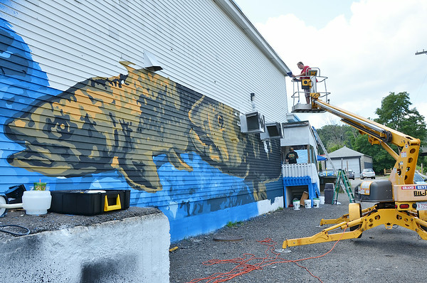 Marion Stoddart Mural Process