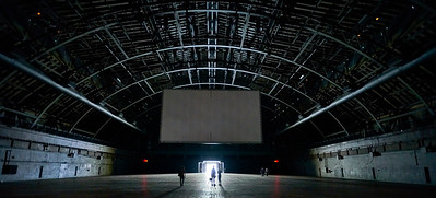 June 11, 2016 - New York, New York : Martin Creed's The Back Door installation at the Park Avenue Armory  Credit: Robert Altman