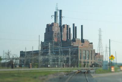 throw back marysville michigan power plant dte demo