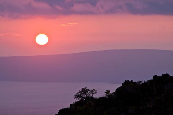 Sunset over Kohoolawe
