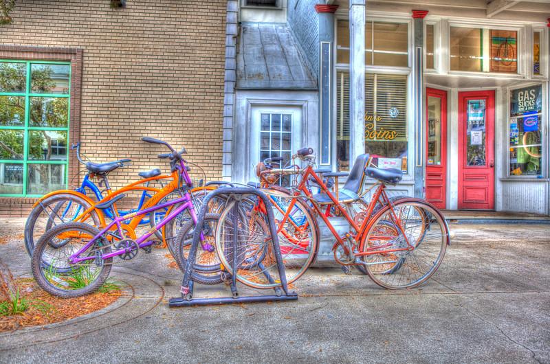 'Waiting Bikes'