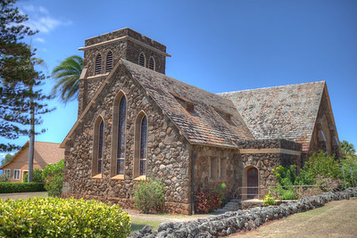 Makawao Union Church HDR 5