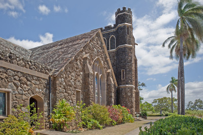 Makawao Union Church HDR 1