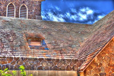 Makawao Union Church HDR 3