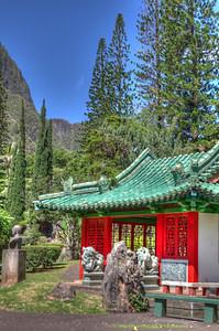 Chinese Pavilion 2, Kepaniwai Heritage Park, 'Iao Valley