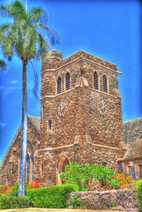 Makawao Union Church HDR 9