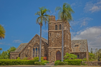 Makawao Union Union Church HDR 10