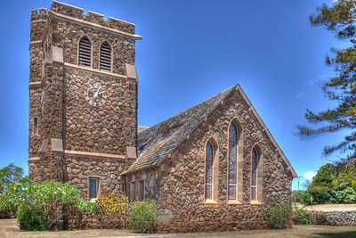 Makawao Union Church HDR 7