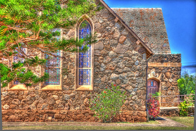 Makawao Union Church HDR 6