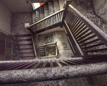 """Steps to Nowhere"" Taken in Tried Stone Baptist Church, Detroit MI 4/12/15"