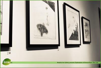 Medulla Art Gallery Presents Explorations in Bronze/Stare the Line