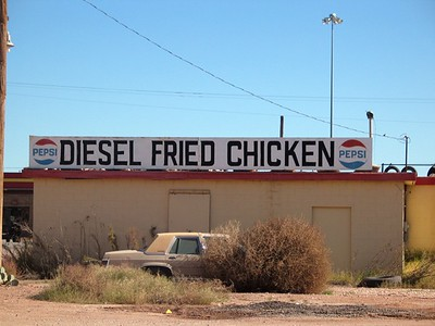 "Diesel Fried Chicken West Texas Chosen by Photographer's forum magazine for their ""Best of Photography 2008"" book and 28th annual Spring Photography contest."