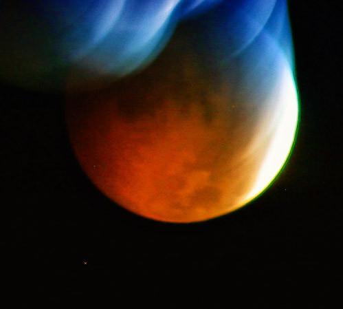 Lunar Eclipse Rachael Waller Photography