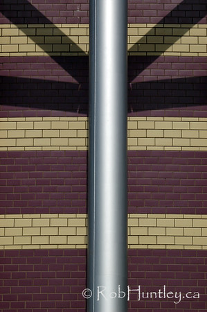 Pipe, Tiles and Shadows  © Rob Huntley