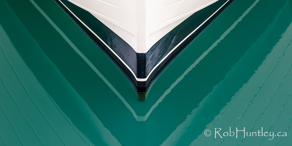 Boat Reflection at Airlie Beach, Queensland, Australia