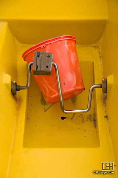 Bucket and pedals