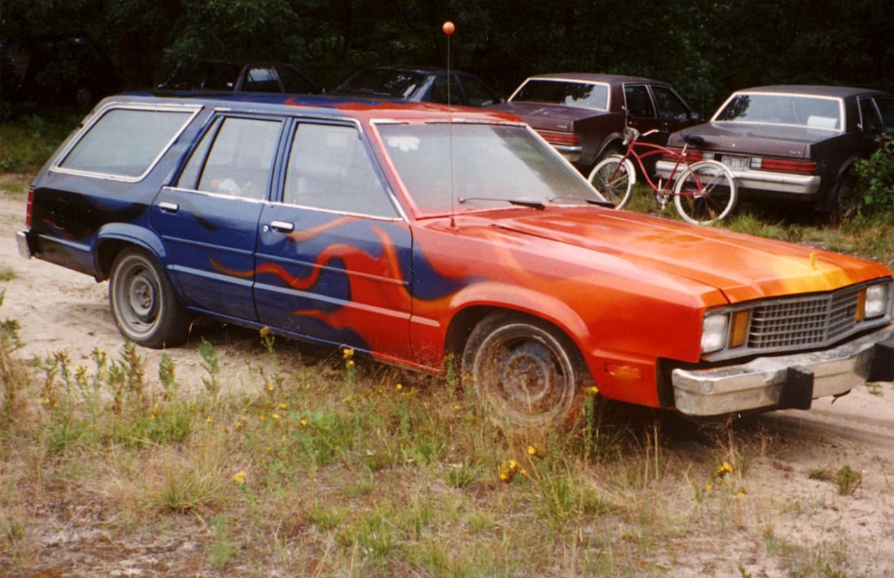 Summer Festival Car Painting