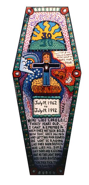 30th Birthday Coffin Lid