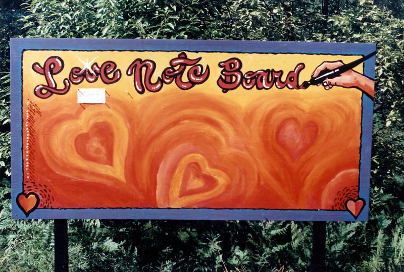 Love Note Board