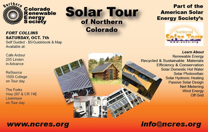 NCRES Solar Tour ad