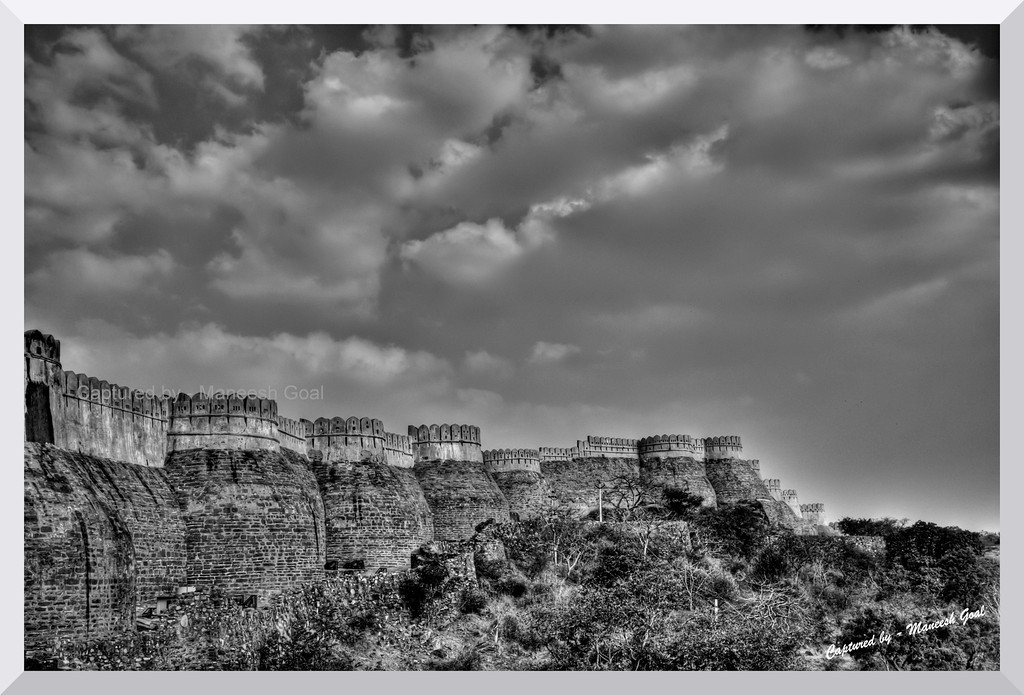 Withstanding many a storm | Kumbhalgarh Fort, Rajasthan