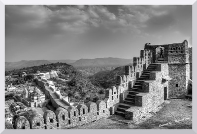 Inside the Kumbhalgarh Fort, Rajasthan