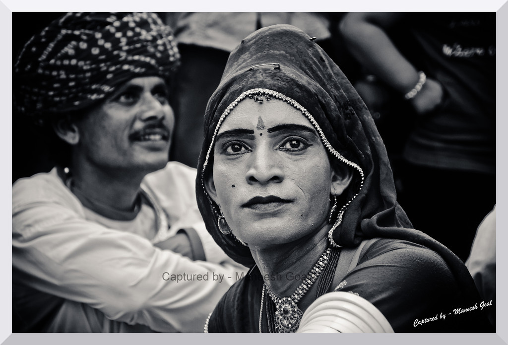 Behrupiya lost in thought | Rajasthani Folk Artist
